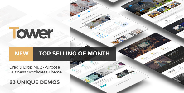 Tower | Business-Driven Multipurpose WP Theme - Business Corporate