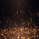 Triangle Stage Gold Sparks - VideoHive Item for Sale
