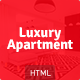 Luxury Apartment - Single property HTML5 Template - ThemeForest Item for Sale