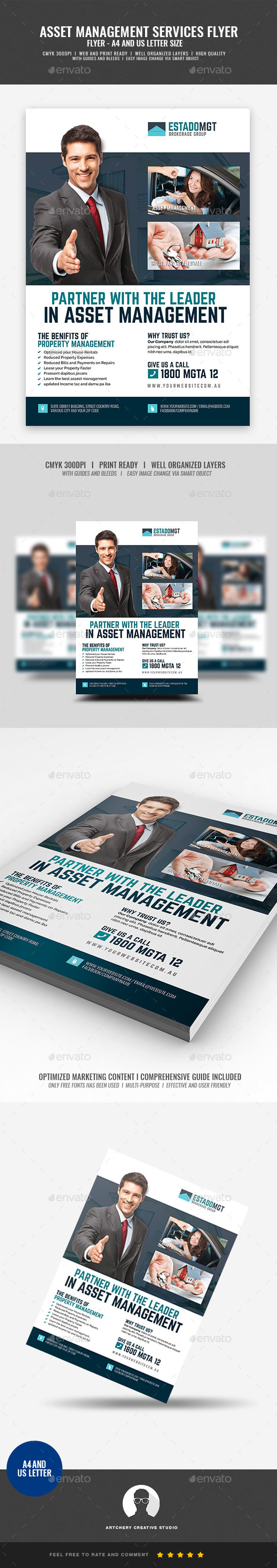 Real Estate Development and Management Flyer - Corporate Flyers