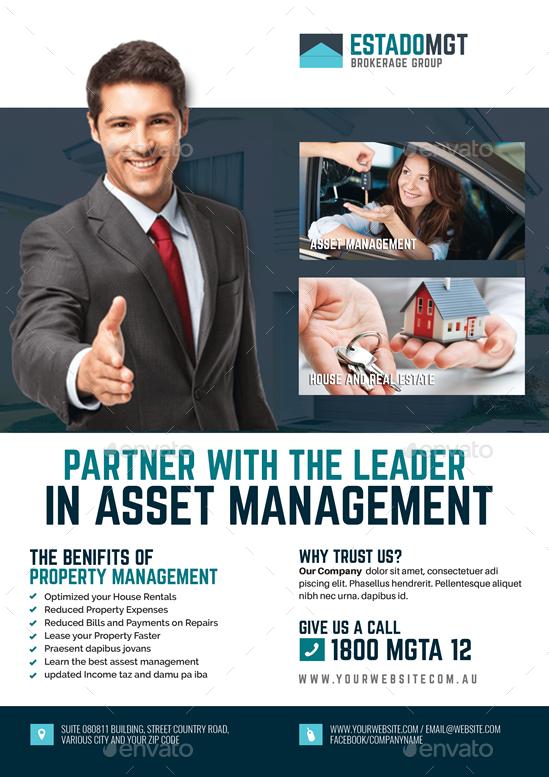 Real Estate Development and Management Flyer