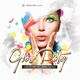 Glow Party CD Cover - GraphicRiver Item for Sale