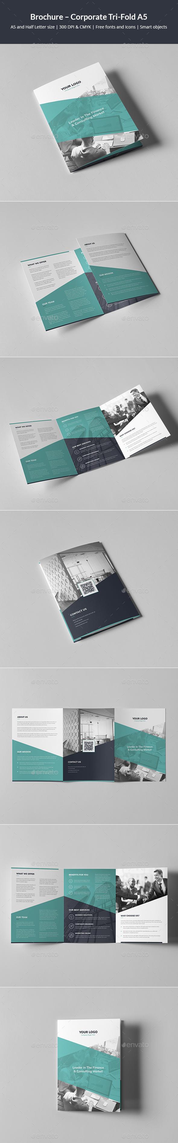 Brochure – Corporate Tri-Fold A5 - Corporate Brochures
