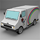 Ice cream car - 3DOcean Item for Sale