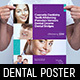 Dental Clinic Poster Template - GraphicRiver Item for Sale