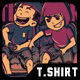 Lets Play Together T-Shirt Design - GraphicRiver Item for Sale