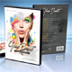 Glow Beats DVD Cover Template - GraphicRiver Item for Sale