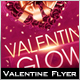 Valentine Glow Flyer - GraphicRiver Item for Sale