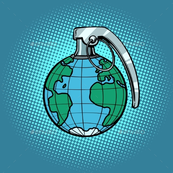 Planet Grenade Ecology and Politics - Miscellaneous Vectors
