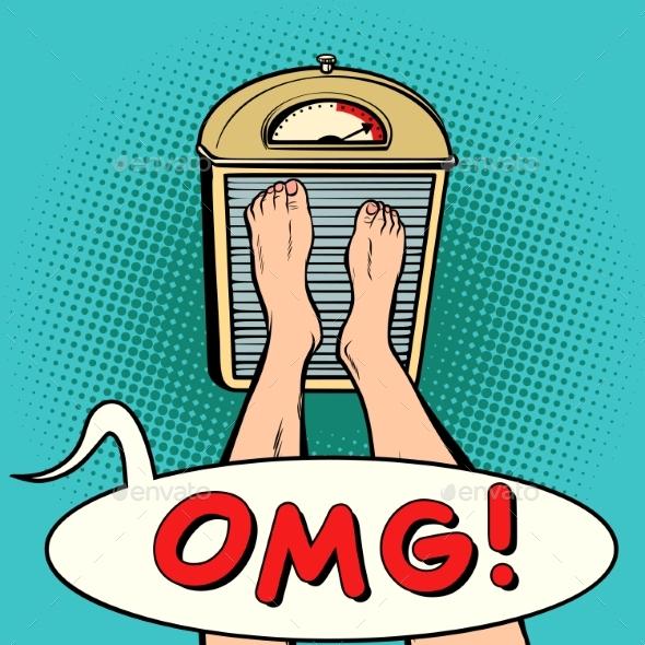 OMG Surprise Diet - Health/Medicine Conceptual