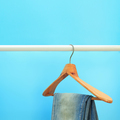 Image of hanged blue jeans - PhotoDune Item for Sale