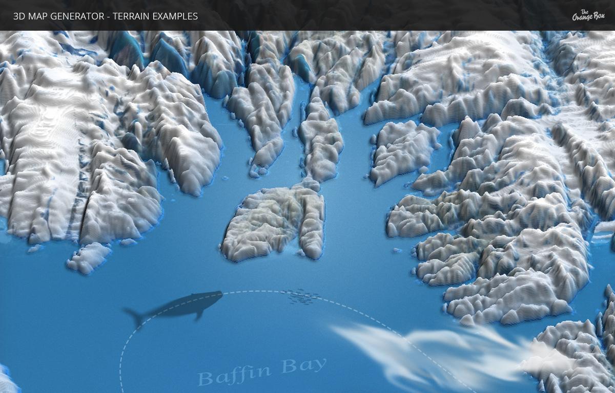 D Map Generator Terrain From Heightmap By OrangeBox GraphicRiver - World heightmap