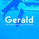 Gerald Sans Font - Geometric Modern Typeface - GraphicRiver Item for Sale