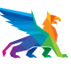 Colorful Polygon Griffin Logo - GraphicRiver Item for Sale