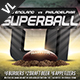 Superball Football Poster / Flyer V03