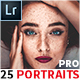 25 Portraits Collection Lightroom Presets - GraphicRiver Item for Sale