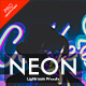 Neon Lightroom Presets