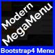 Modern Megamenu - Bootstrap4 Responsive Megamenu