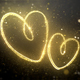 Gold Valentine Hearts - VideoHive Item for Sale