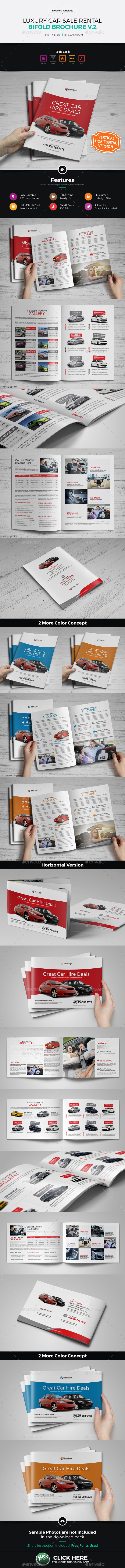 Luxury Car Sale Rental Brochure v2 - Corporate Brochures