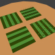 Low Poly Farm Fields - 3DOcean Item for Sale