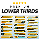 Premium Lower Thirds Pack - VideoHive Item for Sale