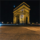 Paris, France - The Arc de Triomphe - VideoHive Item for Sale