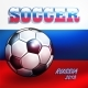 Soccer Championship 2018 in Russia Background. - GraphicRiver Item for Sale