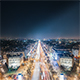Paris The Champs Elysees at Night - VideoHive Item for Sale