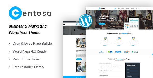 Image of Centosa - Business & Marketing WordPress Theme