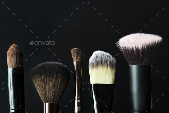 Closeup of cosmetic blush - Stock Photo - Images