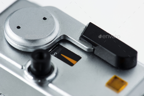 Closeup of vintage camera - Stock Photo - Images