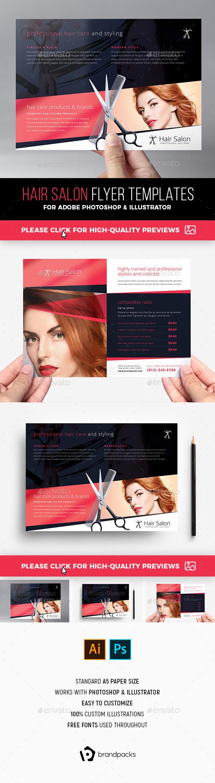 Hair Salon Flyer Template - Commerce Flyers