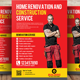 Home Construction Business Flyer