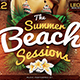 Summer Beach Flyer Template V3 - GraphicRiver Item for Sale