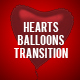 Hearts Balloons Transition - VideoHive Item for Sale