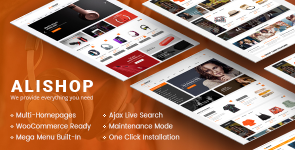 Image of AliShop - Multipurpose WooCommerce WordPress Theme