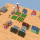 Low Poly Farm Complex - 3DOcean Item for Sale