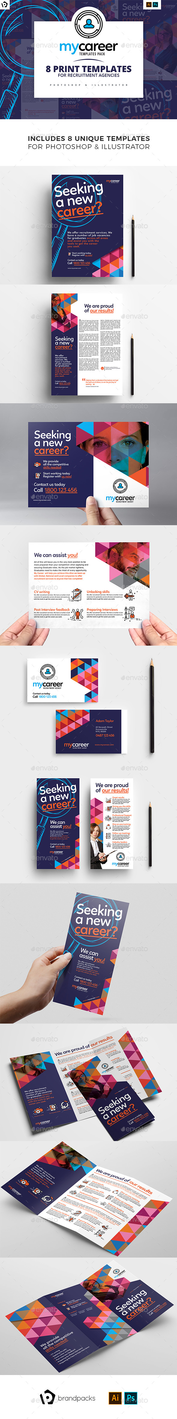 Recruitment Agency Templates Pack - Corporate Flyers