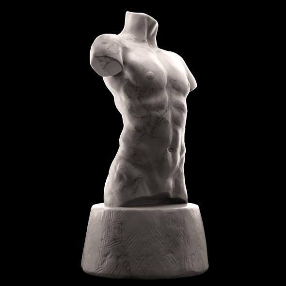 Male Torso - 3DOcean Item for Sale