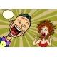 Joyful Man and Scared Woman