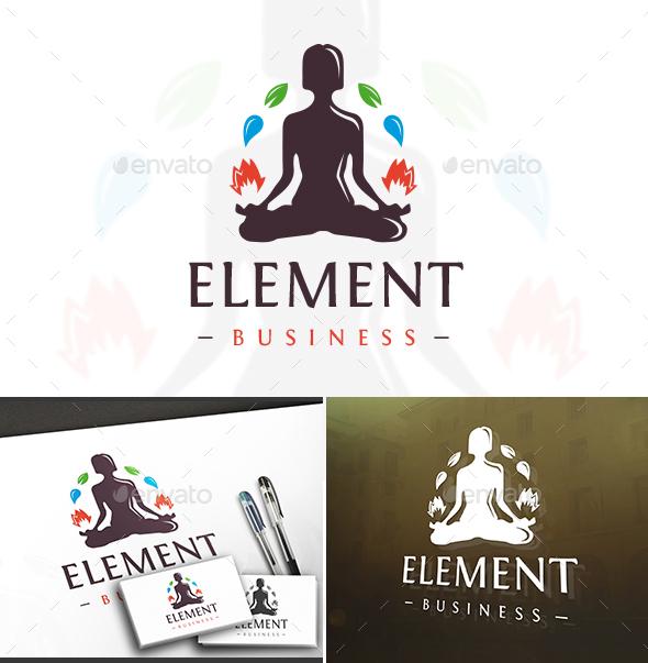 Elements Control Logo - Humans Logo Templates