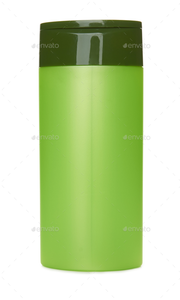 Green container isolated - Stock Photo - Images