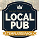 Local Pub Templates Bundle - GraphicRiver Item for Sale