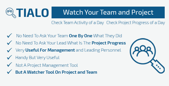 Tealo - Team Activity Watcher - CodeCanyon Item for Sale