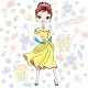 Vector Fashion Girl Princess - GraphicRiver Item for Sale