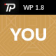 You - Personal WP Template - ThemeForest Item for Sale