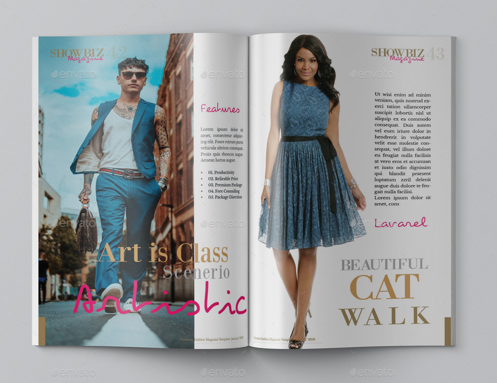 Multipurpose Fashion Magazine Template