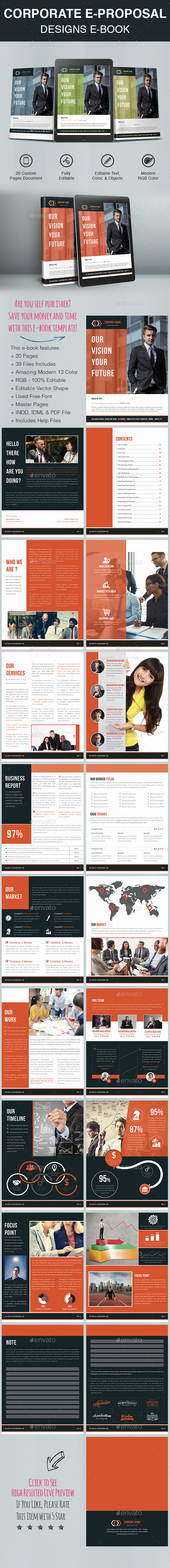 Corporate E-Proposal Designs E-Book - ePublishing