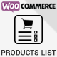 Woocommerce Products List Pro - CodeCanyon Item for Sale